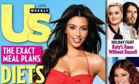 Kim Kardashian Makes Friends with Salad