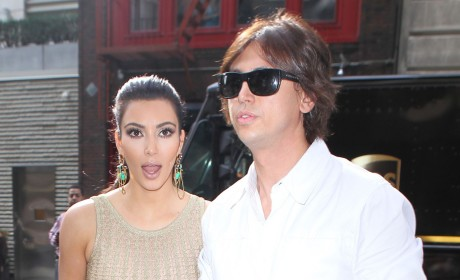 Kim Kardashian and Jonathan Cheban