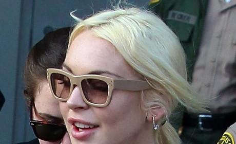 Lindsay Lohan Stalker Arrested After Star Calls Cops
