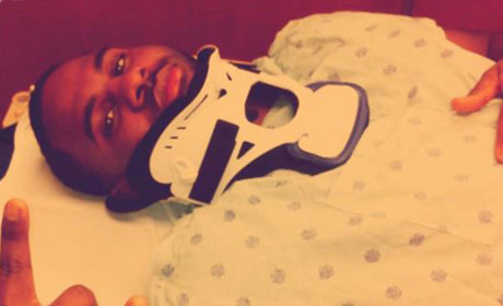 Jason Derulo Fractures Neck, Tweets Funny Pic