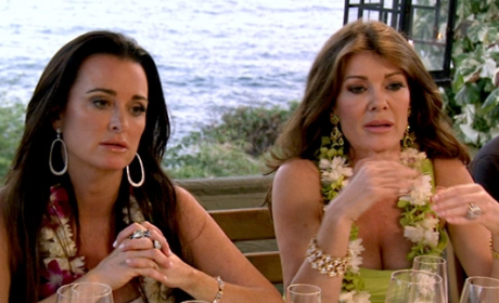 Kyle Richards and Lisa Vanderpump on RHOBH