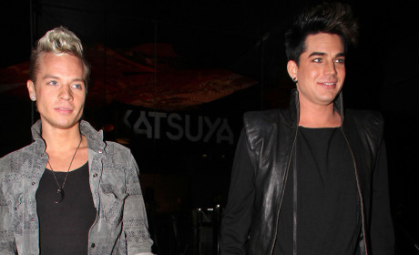 Adam Lambert and Sauli Koskinen: Content at Katsuya