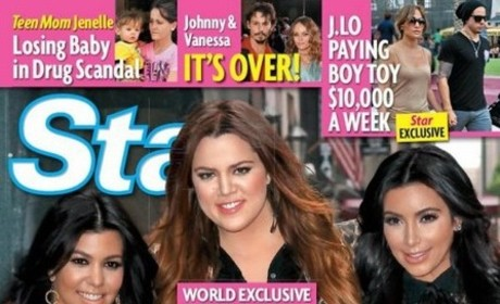 Khloe Kardashian Slams Tabloid Report, Former Stepmoms