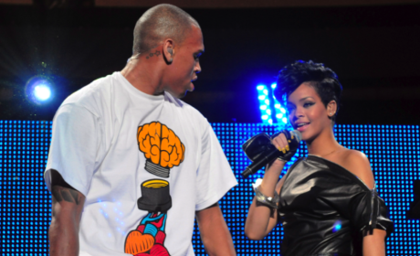 Rihanna and Chris Photo