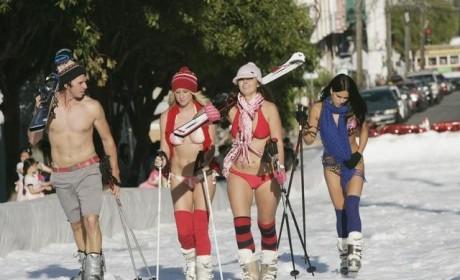 Bikini Ski Trip