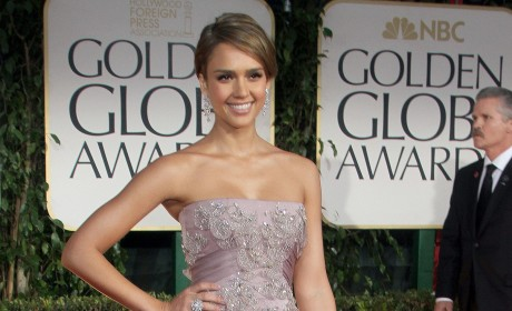 Who looked better at the Golden Globes, Jessica Alba or Jessica Biel?