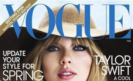 "Taylor Swift Covers Vogue, Teases ""Heartbreaking"" New Album"