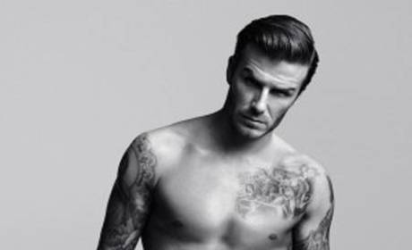 David Beckham Nude: Just Hanging Out