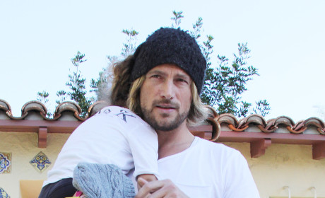 Source Defends Gabriel Aubry: The Nanny Tripped!