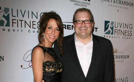 Drew Carey and Nicole Jaracz