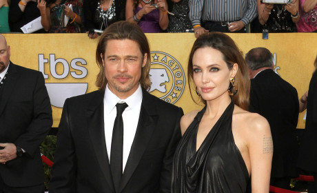 SAG Awards Fashion Face-Off: Brangelina vs. Klooney