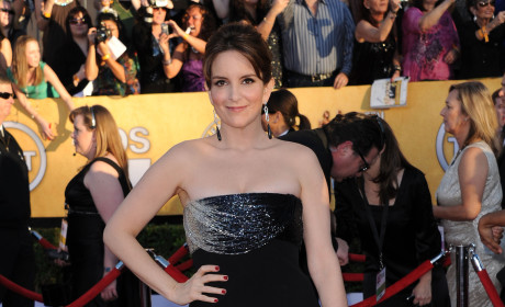 Tina Fey at SAG Awards