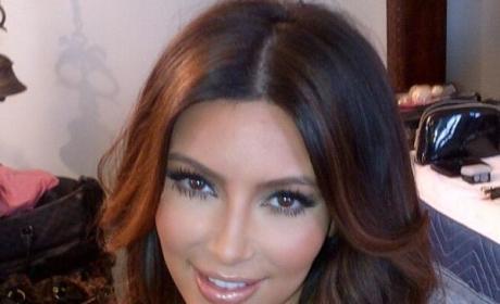 Do you like Kim Kardashian's new hair color?