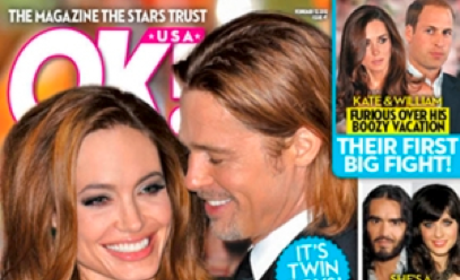 Angelina Jolie: It's Twins!