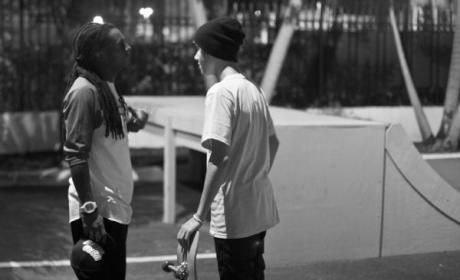 Justin Bieber and Lil Wayne