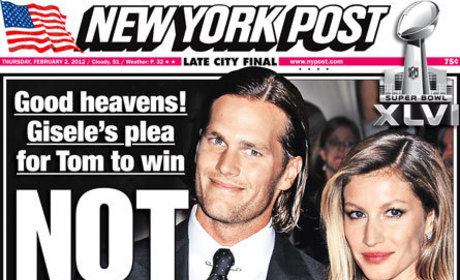 Gisele Prays For Tom Brady