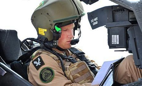 Prince Harry Earns Military Air Combat Award