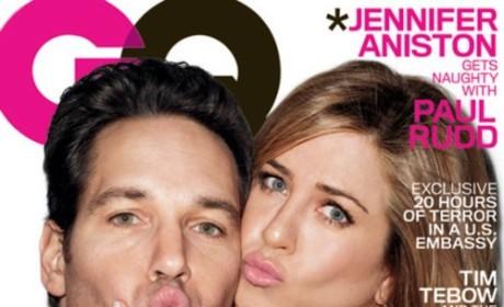 Jennifer Aniston, Paul Rudd GQ Cover