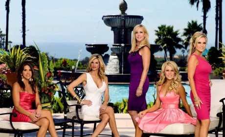 The Real Housewives of Orange County Recap: Hot Pants, Sex Toys and Boob-Centric Fights