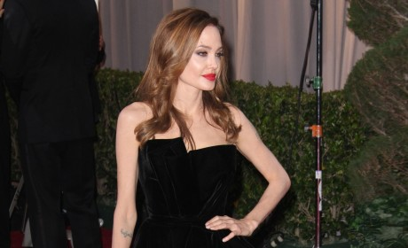 Angelina Jolie on Oscar Pose Craze, Controversy: I Don't Even Pay Attention