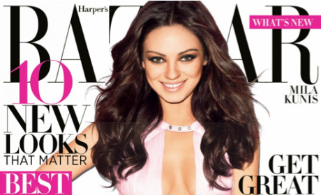 Mila Kunis Harper's Bazaar Cover