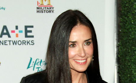 Demi Moore Returns to Los Angeles