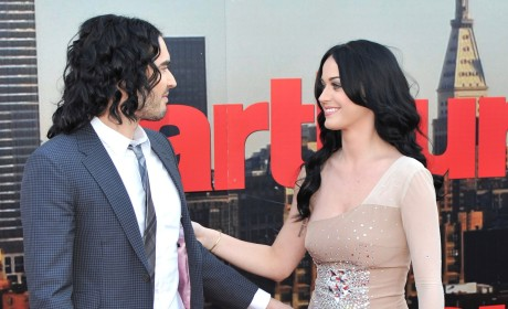 Katy Perry and Russell Brand Photo