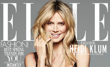 Heidi Klum Elle Cover