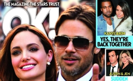 Finally! Angelina Jolie to Become Mrs. Brad Pitt! According to Tabloid!