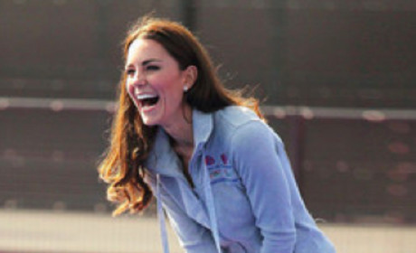 Kate Middleton Gets Her Field Hockey On