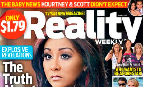 Snooki: Pregnant, Struggling to Eat and Stay Sober