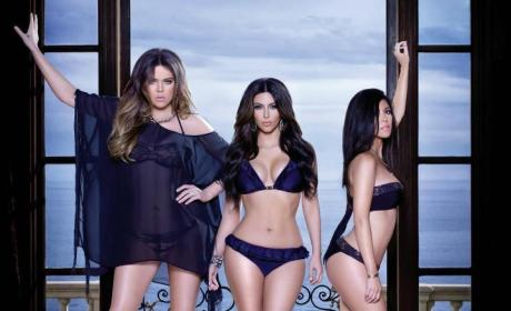 Kardashian Kollection Swimwear Pics