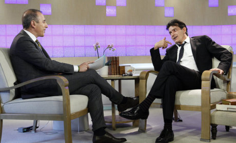 Charlie Sheen on Public Meltdown: Who Was That Guy?!?