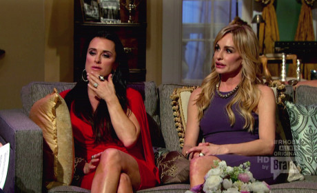 Taylor Armstrong and Kim Richards