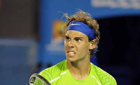Rafael Nadal is Pumped
