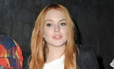 Lindsay Lohan in Yet Another Car Crash