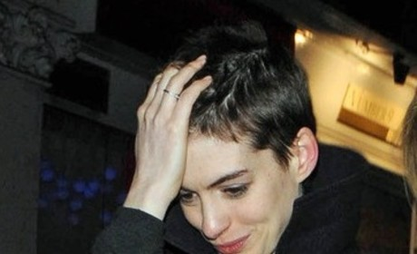 What's Anne Hathaway's best hair?