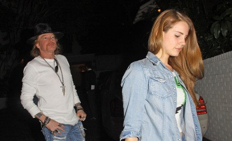 Lana Del Rey and Axl Rose: New Couple Alert?