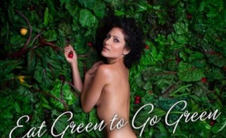 Lisa Edelstein: Nude For PETA!