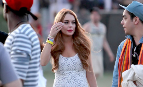Lindsay Lohan in Dark Place, May Die at Coachella, Friend Says