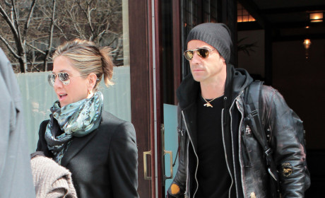 Jennifer Aniston and Justin Theroux Pic