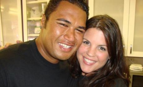 Sam Poueu and Stephanie Anderson: Married!