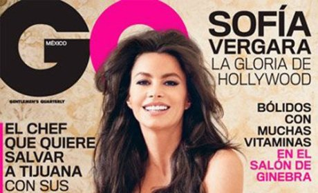 Sofia Vergara, Breasts Cover GQ Mexico