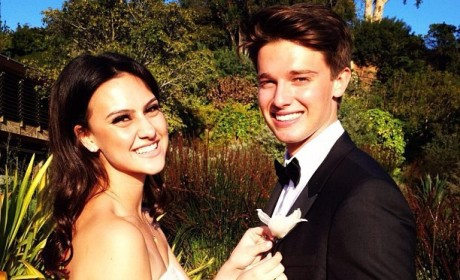Patrick Schwarzenegger Tweets Prom Photo