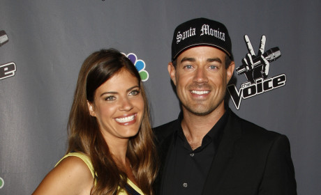 Carson Daly and Siri Pinter