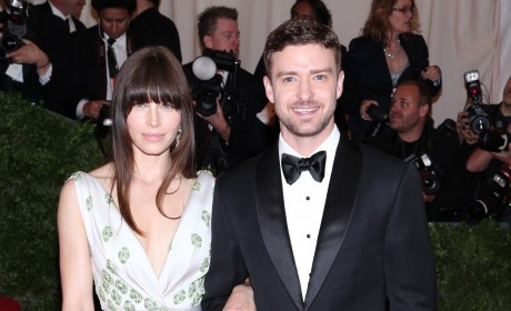 Jessica Biel and Justin Timberlake Photo