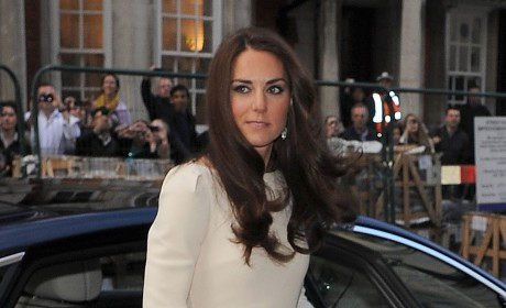"Kate Middleton ""Racy"" Dress Turns Heads"