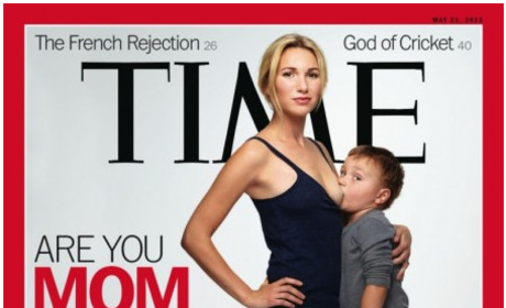 Time Magazine Breastfeeding Cover Renews Debate Over Attachment Parenting, Raises Eyebrows