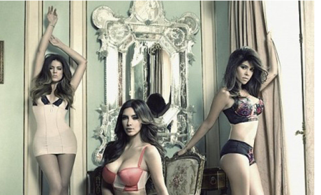Kardashians in Underwear