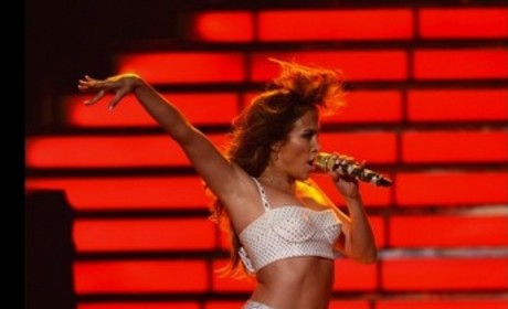 Jennifer Lopez on American Idol Finale